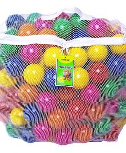 Click-N-Play-Value-Pack-of-400-Phthalate-Free-BPA-Free-Crush-Proof-Plastic-Ball-Pit-Balls-6-Bright-Colors-in-Reusable-and-Durable-Storage-Mesh-Bag-with-Zipper-0