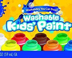 Crayola-Washable-Kids-Paint-set-of-10-Bottles-2-fl-oz59mL-0