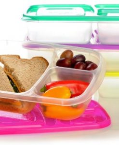 EasyLunchboxes-3-Compartment-Bento-Lunch-Box-Containers-Set-of-4-Brights-0