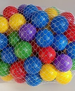Extra-1030-Off-My-Balls-100-pcs-Crush-Proof-Balls-in-5-Bright-Colors-25-Diameter-Air-Filled-non-Recycled-PE-Plastic-Phthalate-Free-BPA-Free-0