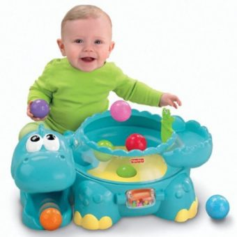Fisher-Price Go Baby Go Poppity Pop Musical Dino Review