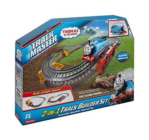 bdbaca019e446f Fisher-Price Thomas The Train - TrackMaster 2-in-1 Track Builder Set ...