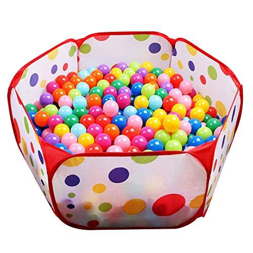 Soft Balls 100 Pcs With A Storage Bag Multicolored Bpafree Play Tent Balls Th... Spielzeug für draußen