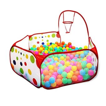 Home ...  sc 1 st  Epic Kids Toys & Kuuqa Kids Ball Pit Ball Tent Toddler Ball Pit with Basketball ...