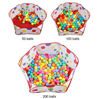 Home ...  sc 1 st  Epic Kids Toys & Kuuqa Kids Ball Pit Ball Tent Toddler Ball Pit with Red Zippered ...