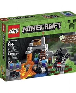 LEGO-Minecraft-The-Cave-21113-Playset-0