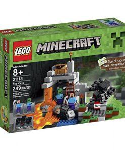 LEGO-Minecraft-The-Cave-21113-Playset-0
