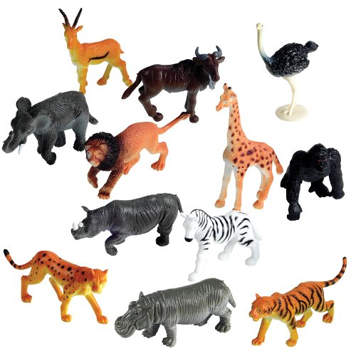 Learning resources jungle animals set of 60 epic kids toys for Classic jungle house for small animals