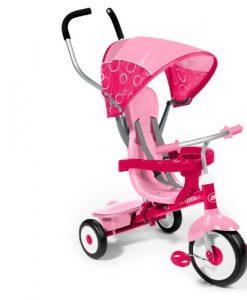 Radio-Flyer-4-in-1-Trike-Pink-0