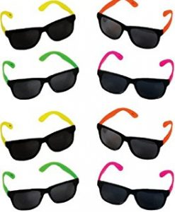 Rhode-Island-Novelty-Neon-80s-Style-Party-Sunglasses-with-Dark-Lens-Pack-of-12-0
