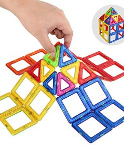 Sago-Brothers-30-Pieces-Magnetic-Tiles-Building-Blocks-for-Kids-Magnets-Building-Set-Early-Development-Construction-Toys-0-0