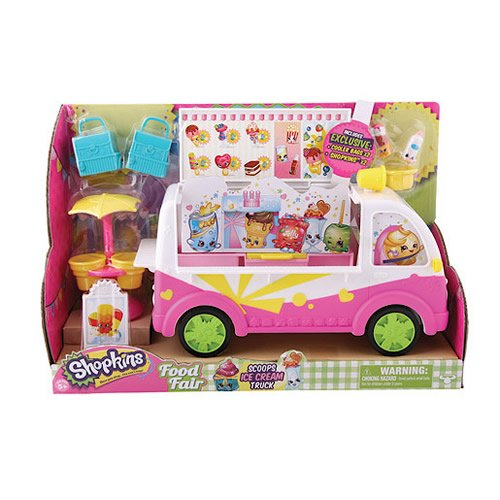 Shopkins Season 3 Scoops Ice Cream Truck