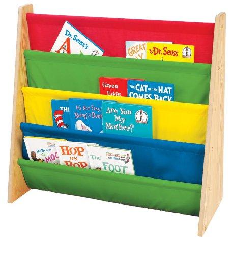 Tot Tutors Kids\' Book Rack, Primary Colors - Epic Kids Toys