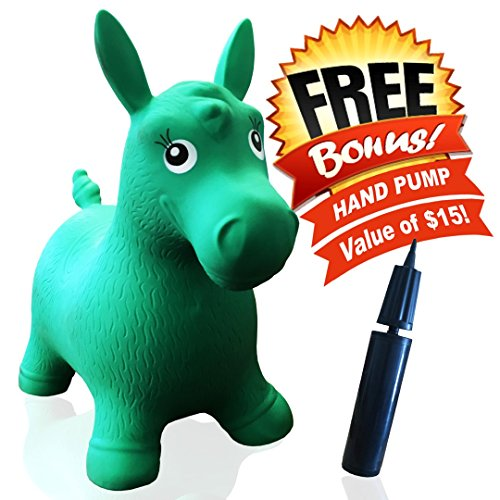 201f8f3a7b4 ToysOpoly Inflatable Bouncer –  1 Rated Cutest Bouncy Hopper Toy for Kids.  Come In Several Animal Shapes  Deer