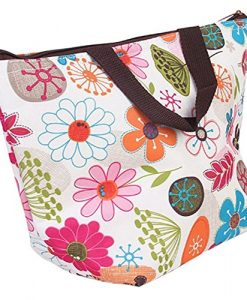 Waterproof-Picnic-Insulated-Fashion-Lunch-Cooler-Tote-Bag-Travel-Zipper-Organizer-BoxA70-Flower-by-BigbigMall-0