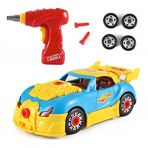 World Racing Car Take A Part Toy For Kids With 30 Take Apart Pieces