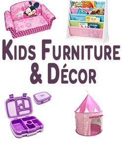 Kids' Furniture And Room Décor