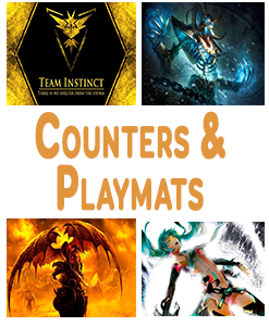 Counters, Playmats And Gameplay Accessories