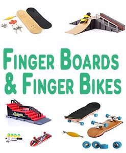 Finger Boards And Finger Bikes
