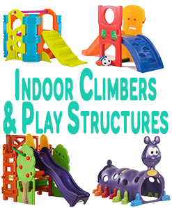 Indoor Climbers And Play Structures
