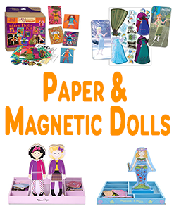 Paper And Magnetic Dolls
