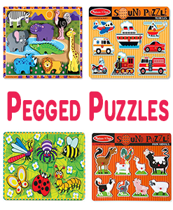 Pegged Puzzles