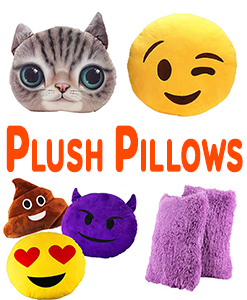 Plush Pillows