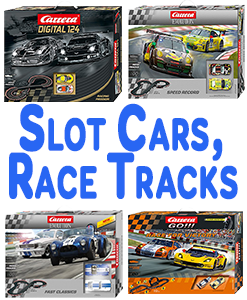 Slot Cars, Race Tracks And Accessories