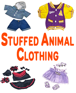 Stuffed Animal Clothing And Accessories