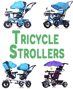 Tricycle Strollers