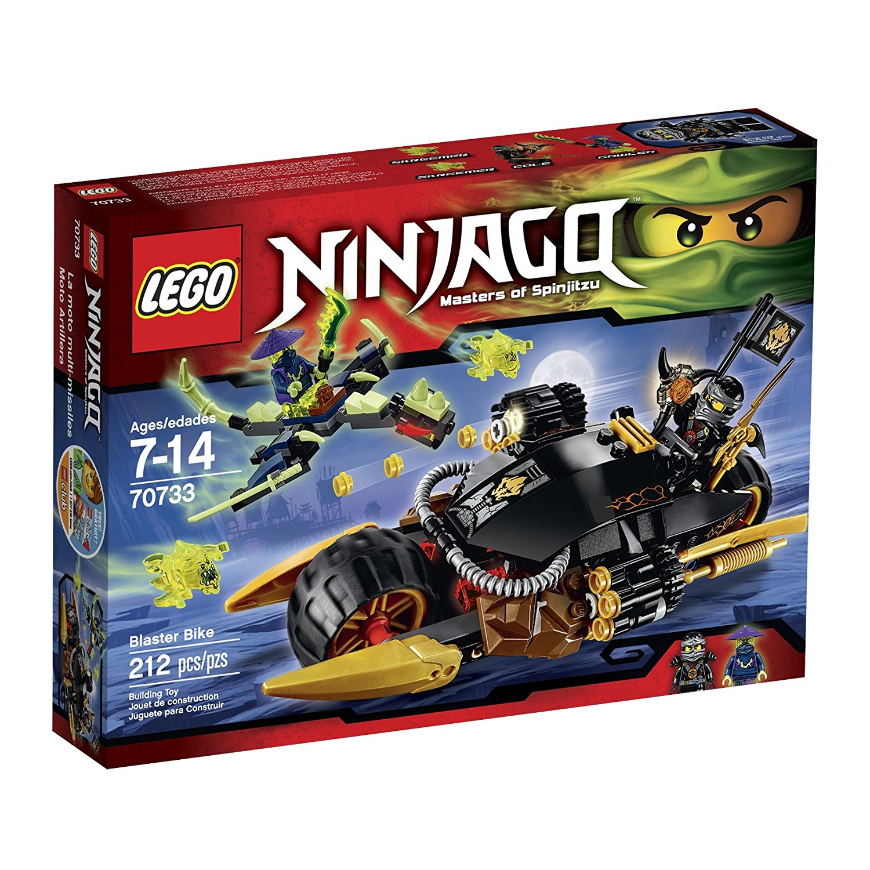 LEGO Ninjago 70733 Blaster Biker Building Kit